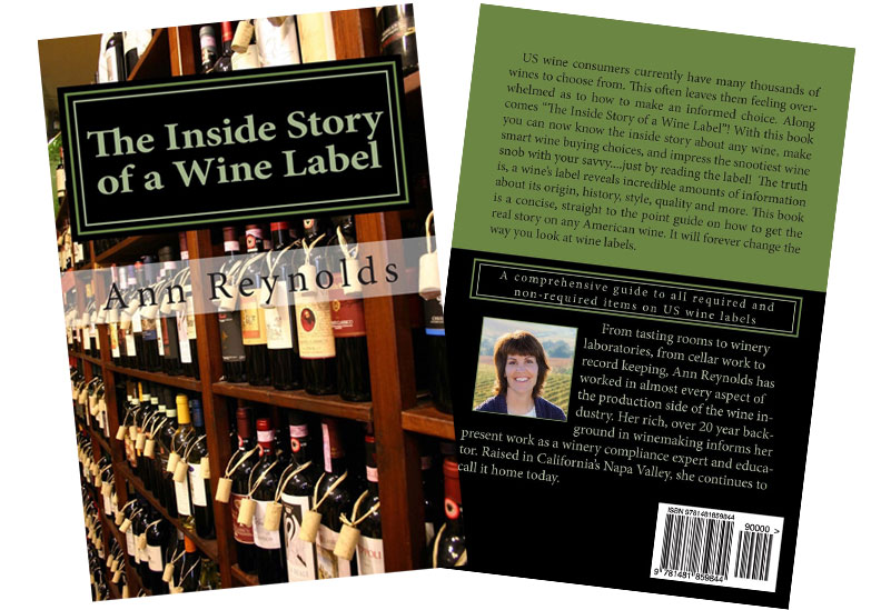 Inside Story of a Wine Label book covers