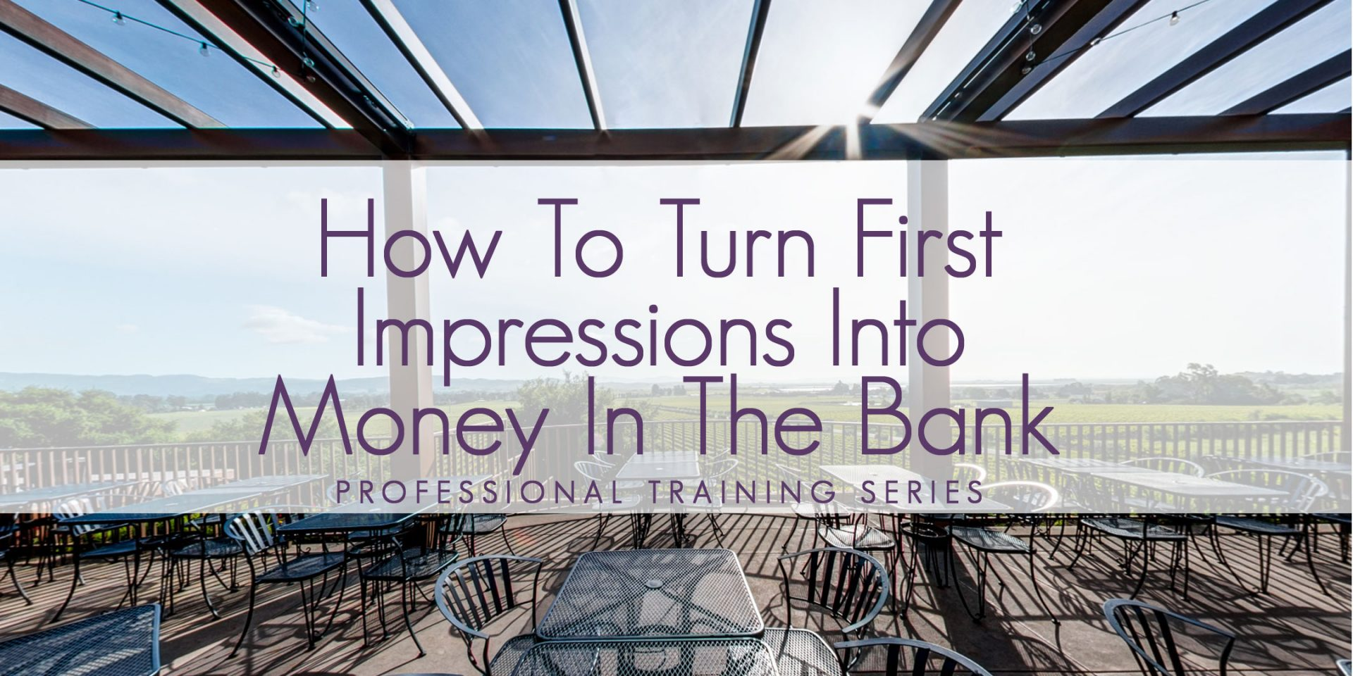 How to turn first impressions slide