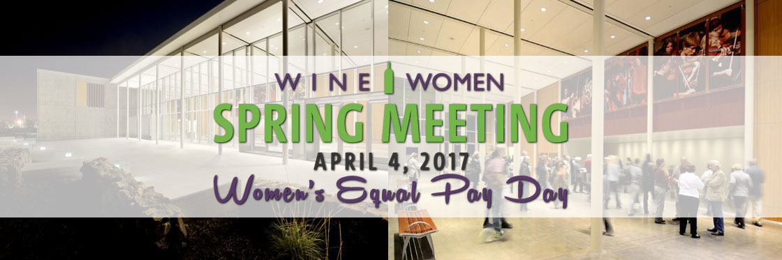 Spring Meeting - Women's Equal Pay Day