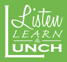 Listen Learn and Lunch logo