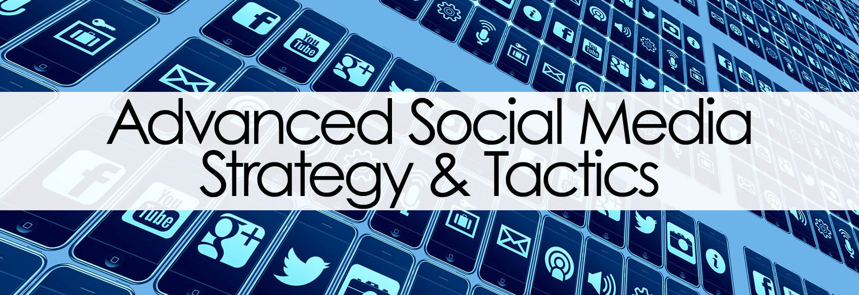 Advanced Social Media Marketing Banner