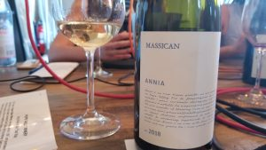 Bottle of Massican Annia 2018