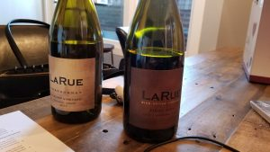 Bottles of LaRue Wines