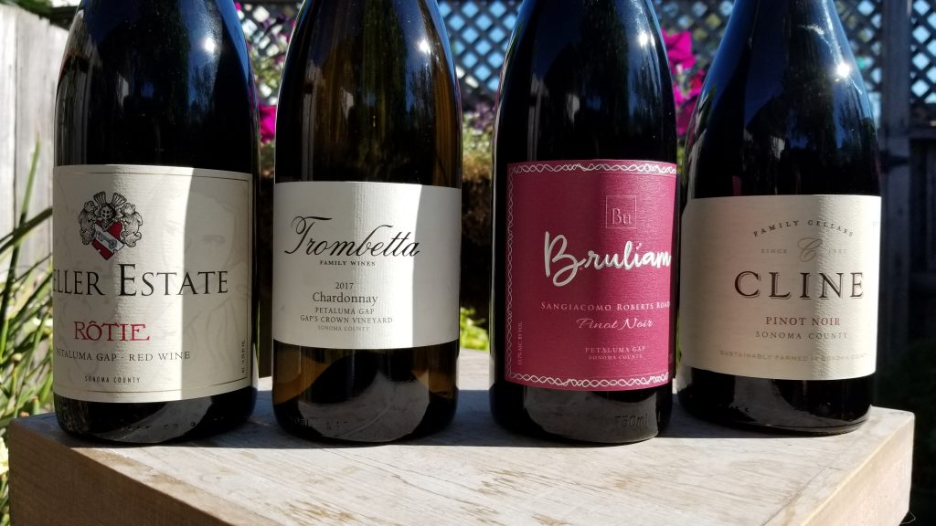 Wines from Petaluma Gap