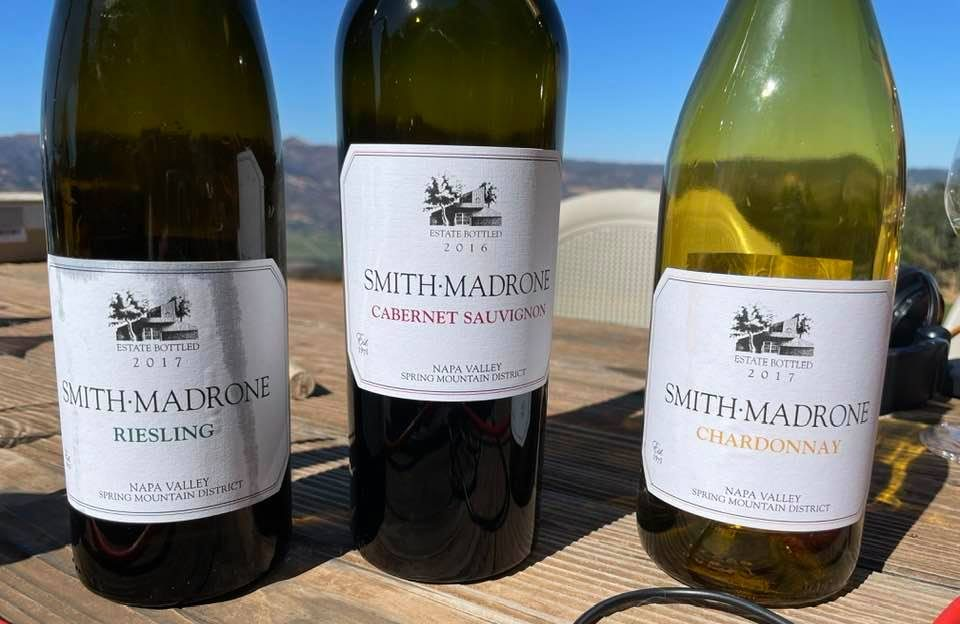 Smith Madrone wine bottles by Misty