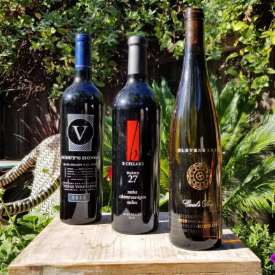 Wine bottles from Kirk Venge