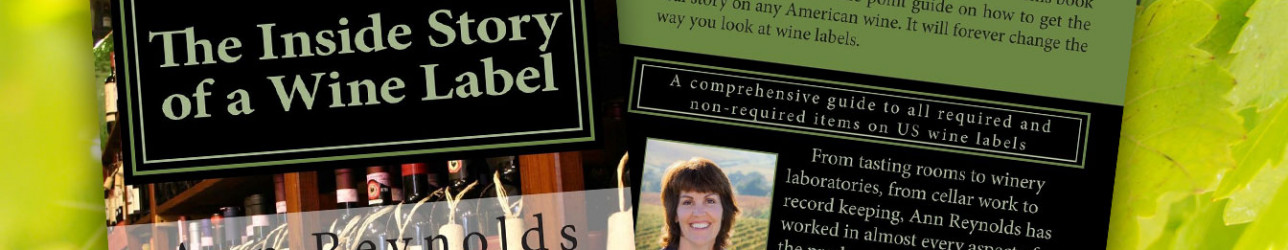 """25% Off """"The Inside Story of a Wine Label"""" Book"""