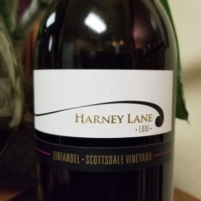 Harney Lane Scottsdale Vineyard Zinfandel