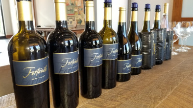 Fortunati Vineyards wine bottles