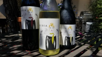 Bottleshot of 3 Rubia wines